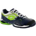 Lotto Men's Raptor Ultra IV Tennis Shoes (Aviator Blue /Clover)
