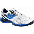 Lotto Men's Raptor Ultra IV Tennis Shoes (White /Aviator Blue) - Lotto