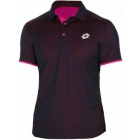 Lotto Men's David Ferrer 1000 Polo (Navy/ Pink) - Men's Tops T-Shirts & Crew Necks Tennis Apparel