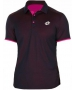 Lotto Men's David Ferrer 1000 Polo (Navy/ Pink) - Tennis Apparel