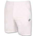 Lotto Men's David Ferrer 1000 Shorts (White/ Silver) - Lotto Men's Apparel Tennis Apparel