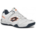 Lotto Men's T-Tour IV 600 Tennis Shoe (White/ Orange) - Lotto Tennis Shoes