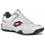 Lotto Men's T-Tour IV 600 Tennis Shoe (White/ Orange)