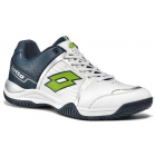 Lotto Men's T-Tour IV 600 Tennis Shoe (Aviator/ White) - New Tennis Shoes