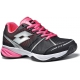 Lotto Women's Viper Ultra Tennis Shoes (Black/ Pink) - Lotto