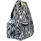 Jet Racing Stripes Small Sling Convertible - Jet Bags
