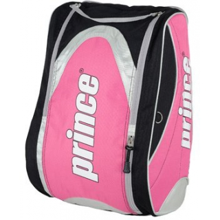 Prince Racq Pack Tennis Backpack (Pink/ Black)