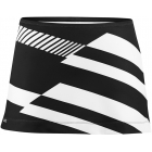 DUC Radar Women's Tennis Skirt (Blk/ Wht) - DUC Women's Apparel Tennis Apparel