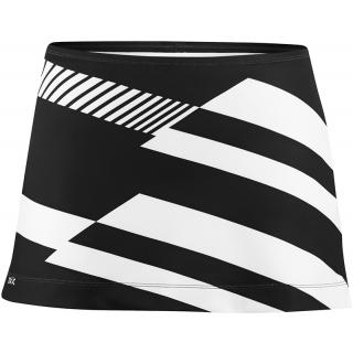 DUC Radar Women's Tennis Skirt (Blk/ Wht) [SALE]