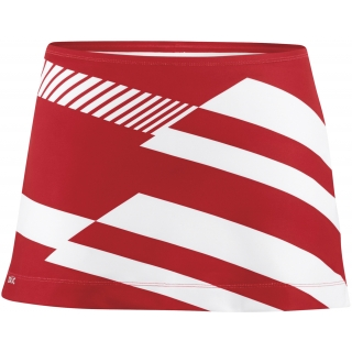 DUC Radar Women's Tennis Skirt (Red/ Wht)