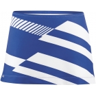 DUC Radar Women's Tennis Skirt (Royal/ Wht) - DUC Women's Apparel Tennis Apparel