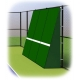 Rally Master 10 x 12 Back-Sloped Backboard (8°) - Rally Master Tennis Backboards