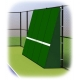 Rally Master 10 x 16 Back-Sloped Backboard (8°) - Rally Master Tennis Backboards