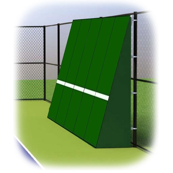 Rally Master 10 x 20 Back-Sloped Backboard (8°)