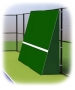 Rally Master 10 x 32 Back-Sloped Backboard (8°) - Rally Master Tennis Equipment
