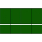 Rally Master 10 x 16 Tennis Backboard - Rally Master Tennis Backboards