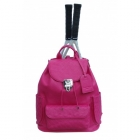 Court Couture Hampton Backpack (Raspberry) - Court Couture Tennis Bags