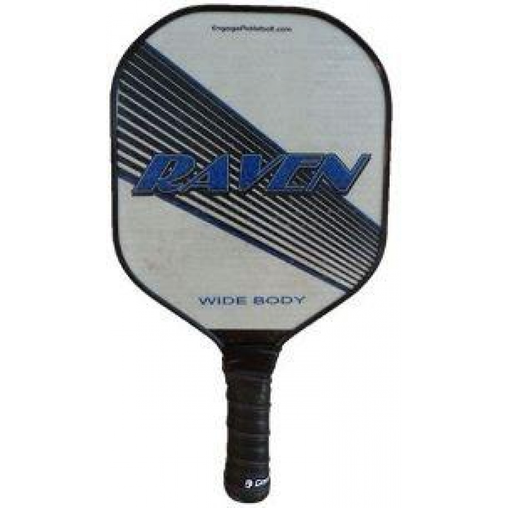 Engage Raven Oversize Wide Body Pickleball Paddle (Blue)