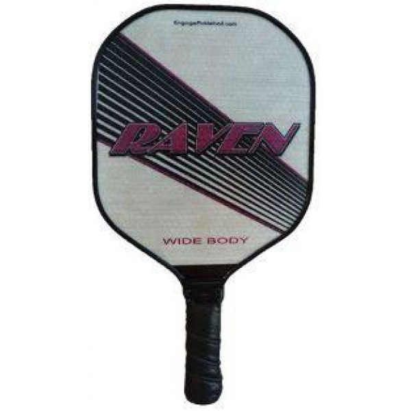 Engage Raven Oversize Wide Body Pickleball Paddle (Purple)