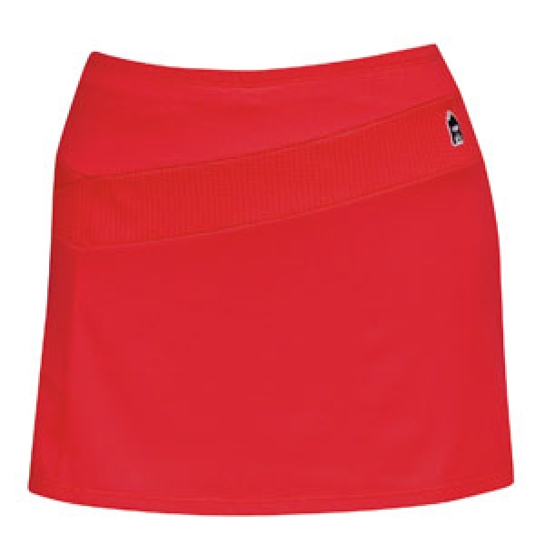 DUC React Women's Tennis Skirt (Red)