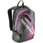 Tecnifibre Rebound Tennis Racquet Backpack (Black/Pink) - Women's Tennis Bags