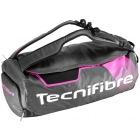 Tecnifibre Rebound Rackpack Tennis Bag (Black/Pink) - Tennis Travel Duffel Bags