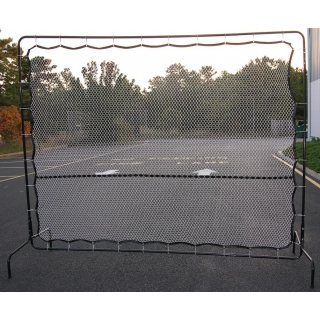Courtmaster Deluxe Tennis Rebound Net and Frame 9'W x 7'H, #221