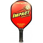 Pro-Lite Impact Graphite Paddle (Red) - Tennis Court Equipment