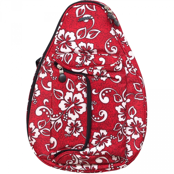 Jet Red Hawaiian Mini Backpack