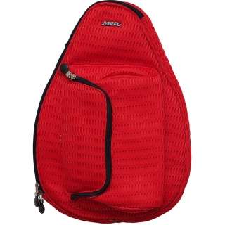 Jet Red Mesh Mini Backpack
