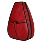 40 Love Courture Red Faux Leather Sophi Backpack - 40 Love Courture