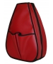 40 Love Courture Red Faux Leather Sophi Backpack - Red, White & Blue Tennis Bags