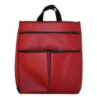 40 Love Courture Red Faux Sophi Tote - 40 Love Courture