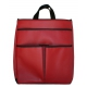 40 Love Courture Red Faux Sophi Tote - Tennis Bag Brands