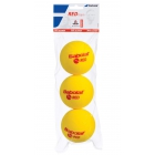 Babolat Kids Stay and Play Red Foam Tennis Ball (3 Balls) - Babolat Junior Tennis