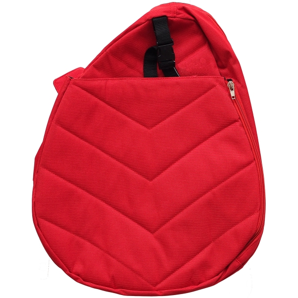 Jet Red Junior Sling Tennis Bag