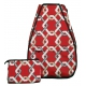 40 Love Courture Red Rope Elizabeth Tennis Backpack - 40 Love Courture Elizabeth Tennis Backpack
