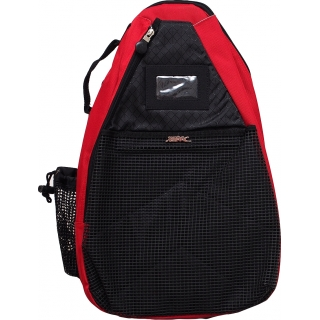 Jet Red T-Strap Tennis Bag
