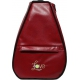 40 Love Courture Red Ostrich Elizabeth Tennis Backpack - Tennis Racquet Bags