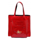 40 Love Courture Red Faux Paris Sack Tennis Bag - 40 Love Courture