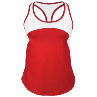 DUC Refreshing Women's Tennis Tank (Red)