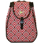 40 Love Courture Rojo Maddie Backpack - Designer Tennis Backpacks