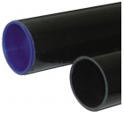 Round Thick Wall PVC Sleeves for 3'' Tennis Posts  - Courtmaster