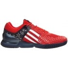 Adidas Men's Adizero Ubersonic GDub Tennis Shoes (Red/White/Blue) - Adidas adiZero