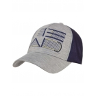 Head Trucker Hat (Grey/Navy) - HEAD Hats, Caps, and Visors