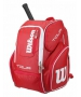 Wilson Tour V Large Backpack (Red) - Backpack Collection
