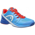Head Men's Nitro Pro Tennis Shoes (Blue/Flame) - Men's Tennis Shoes