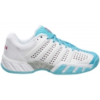 K-Swiss Junior Bigshot Light 2.5 Tennis Shoes (White/Bachelor Button/Very Berry) - K-Swiss