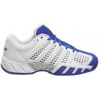 K-Swiss Junior Bigshot Light 2.5 Tennis Shoes (White/Electric Blue/Dress Blues) - K-Swiss