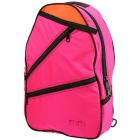 Maggie Mather Tennis Backpack (Pink) - Designer Tennis Bags